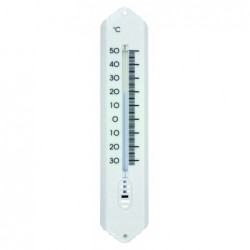 Thermomètre plastique blanc...