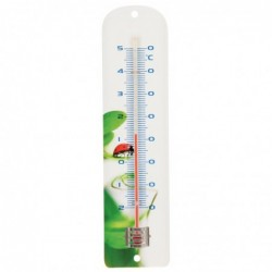 Thermomètre métal décor...